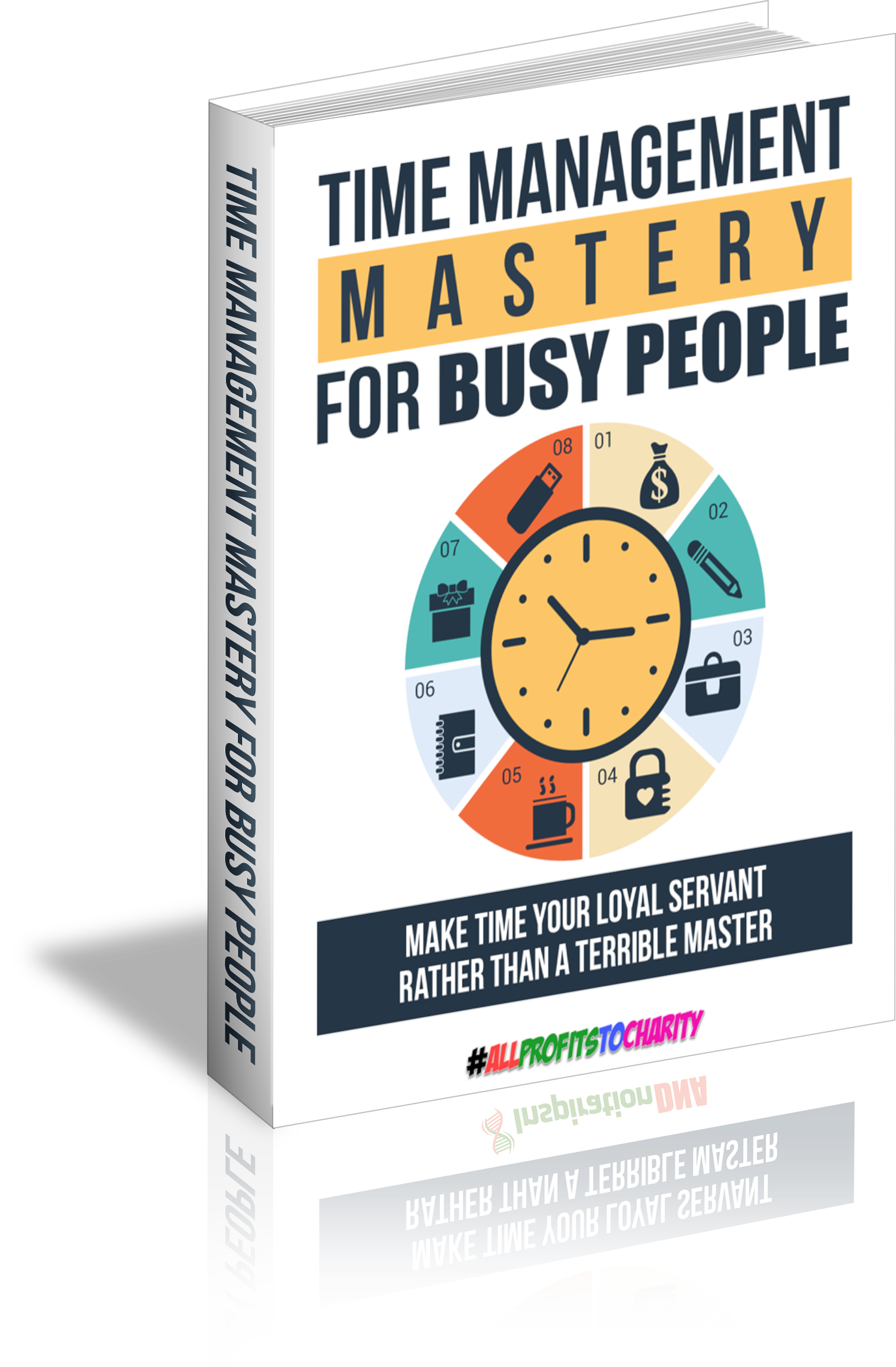 Time Management Mastery For Busy People cover